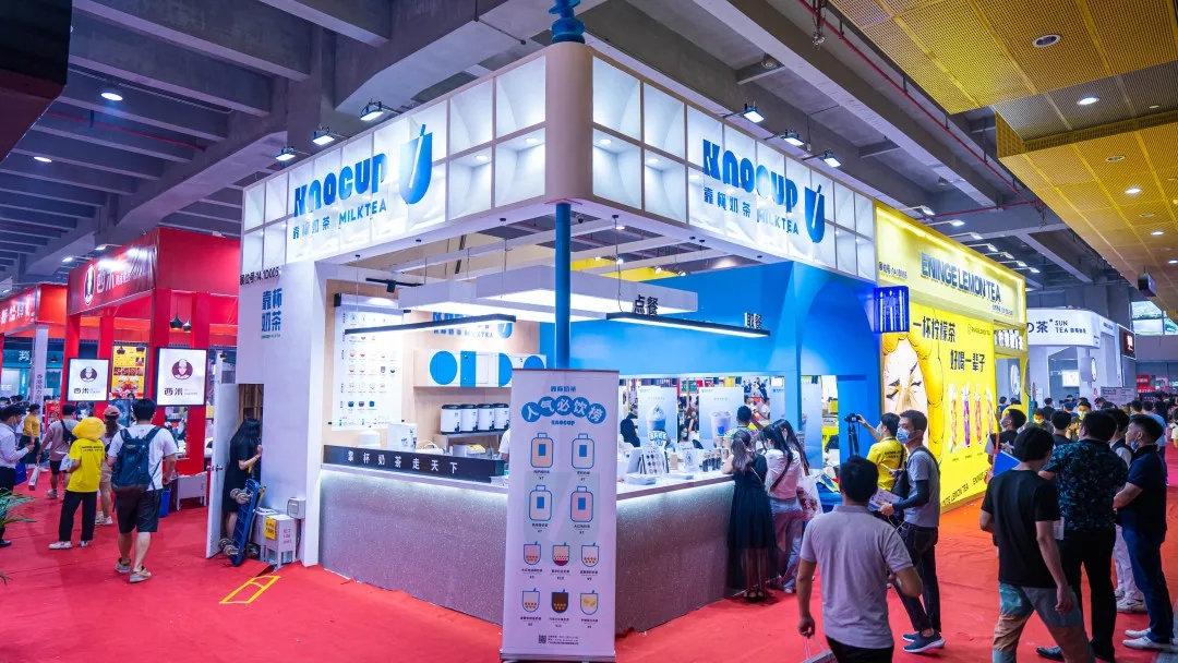 1柠1柠檬茶与靠杯奶茶同场亮相2020广州GFE展会